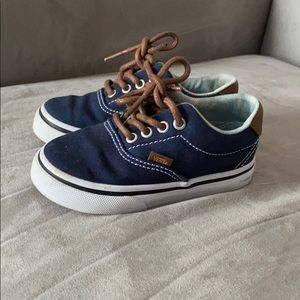 Like New Boys Vans size 6.5